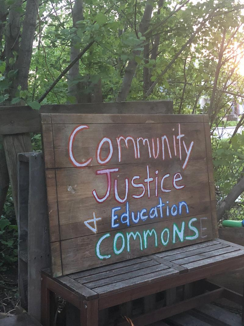 Community Justice and Education Commons